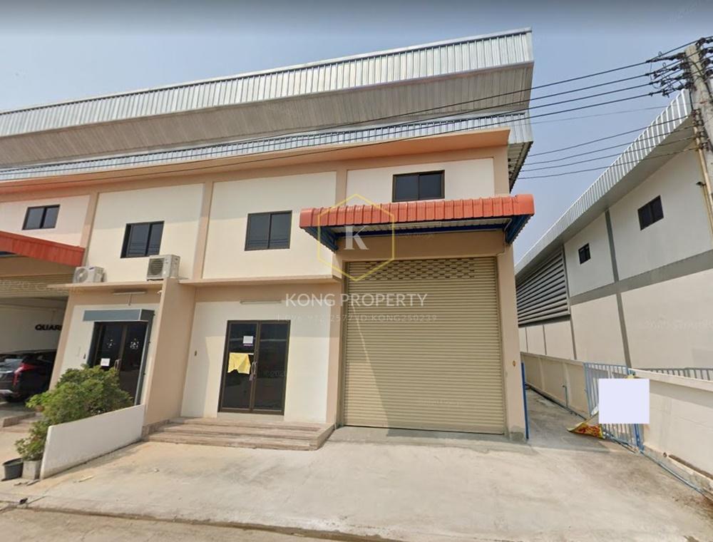 เช่าโกดังเอกชัย บางบอน : ให้เช่าโกดัง 340 ตร.ม.ถนนเอกชัย-บางบอน5  ต.แคราย สมุทรสาคร Warehouse for rent, 340 sq.m., Ekachai-Bangbon 5 Road, Khae Rai Subdistrict, Samut Sakhon