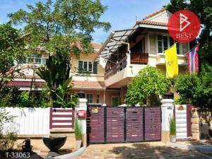 For SaleHouseOnnut, Udomsuk : house for sale Phatra Village Ring-On Nut Bangkok