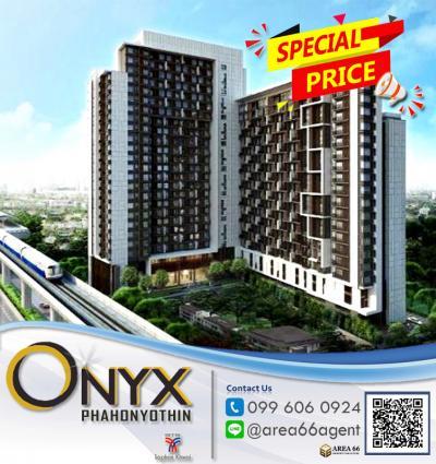 For SaleCondoSapankwai,Jatujak : For Sale ONYX Phaholyothin Nearby BTS SAPANKWAI