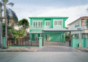For SaleHouseNonthaburi, Bang Yai, Bangbuathong : (Owner) 2 storey detached house for sale, Casa Ville 2 project, near the purple train, Bang Rak Yai, 3 bedrooms, 3 bathrooms, great location.