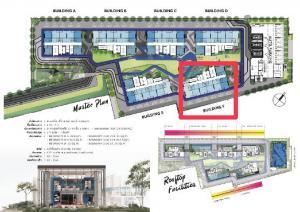 Sale DownCondoNawamin, Ramindra : Selling pre-order Condo The Origin Plug & Play Ramindra, Duo Space type, ceiling 4.2 meters