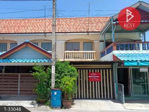 For SaleTownhouseSamrong, Samut Prakan : Townhouse for sale. Phoomjai Niwet Village 2, Suksawat, Phra Samut Chedi, Samut Prakan