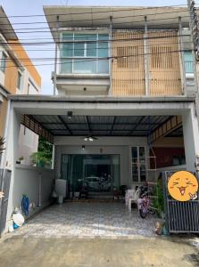 For RentTownhouseKaset Nawamin,Ladplakao : For rent townhome 3 floors Ecospace Kaset-Nawamin. AOL-F81-2106004115