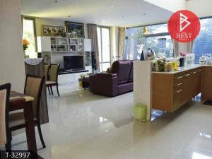 For SaleCondoPattaya, Bangsaen, Chonburi : Luxury condo for sale, Casalunar Paradiso, sea view, Saen Suk Subdistrict, Mueang Chonburi District