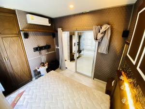 For RentCondoRattanathibet, Sanambinna : Condo for rent, Manor Sanambinnam, very beautiful, cheapest, with washing machine