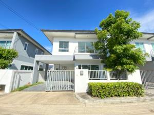 For SaleHouseNawamin, Ramindra : Selling below appraised value 2 storey detached house, Sena Village, Park Ville, Ramintra-Wongwaen, super cheap. If interested, you can inquire.