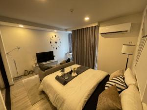 For RentCondoRatchathewi,Phayathai : Condo for rent Maestro 14 Siam - Ratchathewi  fully furnished (Confirm again when visit).