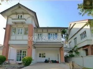 For SaleHouseBangbuathong, Sainoi : 2 storey detached house for sale, Laddarom Pinklao, Kanchanaphisek 115 sq.wa. 290 sq.m.