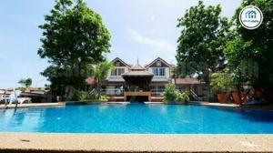 For SaleHousePattaya, Bangsaen, Chonburi : Pool Villa House, Central Park Hillside Village, 298 square meters, 5 bedrooms, 7 bathrooms, in the highest corner of the project, Pattaya City, Bang Lamung District, Chonburi