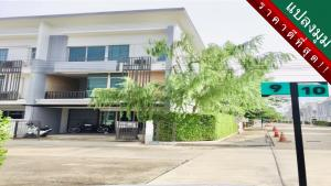 For SaleTownhouseNawamin, Ramindra : Best price!! Ready to move in. Built-in LOFT style townhome, 3-storey corner plot, PLEX Watcharaphon project.