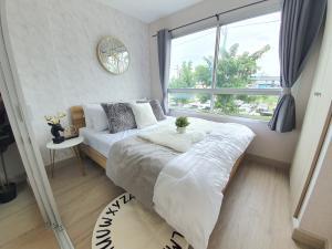 For SaleCondoPattanakan, Srinakarin : 《Very cheap..Very worthwhile》Condo Lumpini Ville On Nut Phatthanakan 55, newly renovated. like a sample room
