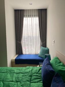 เช่าคอนโดสะพานควาย จตุจักร : ให้เช่า M จตุจักร ชั้น 27 เฟอร์/เครื่องใช้ไฟฟ้าครบ 56 ตรม. (2 Bed 2 Bath)