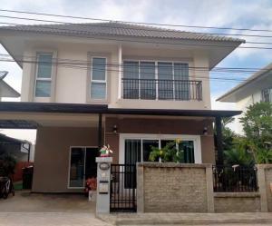 For RentHouseSamrong, Samut Prakan : House for rent near the Scenery Park, Bang Phli Yai, Soi Wat Luang Pho To.