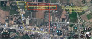 ขายที่ดินสุพรรณบุรี : ขายที่ดิน อ.ดอนเจดีย์ จ.สุพรรณบุรี 9 ไร่ ที่สวย หน้ากว้าง ติดคลองชลประทาน อยู่ในเขตเทศบาล ใกล้ตลาด โรงพยาบาล และสถานที่สำคัญต่างๆ