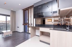 For SaleCondoRama9, RCA, Petchaburi : Hot Sale ! The Line Asoke-Ratchada, 1 bedroom, 35.67 sq.m., fully furnished, ready to move in, near MRT Rama 9