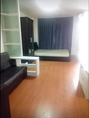 For RentCondoRamkhamhaeng, Hua Mak : Condo for rent Lumpini Condo Town Bodindecha-Ramkhamhaeng 💥near Ramkhamhaeng University Bodindecha School💥, fully furnished, ready to move inSize 25 sq.m., 3rd floor, Building A💰 Rental price: 6,500 baht / month