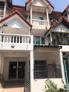 For RentHome OfficeSukhumvit, Asoke, Thonglor : H458-For rent, 3-storey home office, Sukhumvit 66/1, near BTS Udom Suk (empty house). Convenient transportation, ready to move in