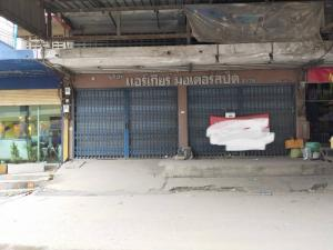 For SaleShophouseBangna, Bearing, Lasalle : Selling 2 commercial buildings !! On the main road Srinakarin Near the yellow line, only 100 meters, suitable for commercial trading