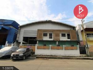 For SaleWarehouseRangsit, Thammasat, Patumtani : Warehouse with office for sale, 2 ngan, 55.0 square wa, Khlong Nueng, Pathum Thani.