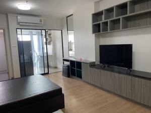 For RentCondoChengwatana, Muangthong : Condo for rent Supalai Loft Chaengwattana with furniture and electrical appliances