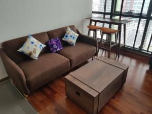 For RentCondoRatchathewi,Phayathai : ✅ For rent, 2 bedrooms, 1 bathroom, size 47 sq.m., 17th floor, fully furnished Ready to move in, rental price 35,000 baht/month