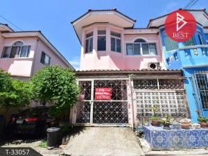 For SaleTownhouseSamrong, Samut Prakan : Townhouse for sale PK Garden Village, Pracha Uthit 90, Phra Samut Chedi, Samut Prakan