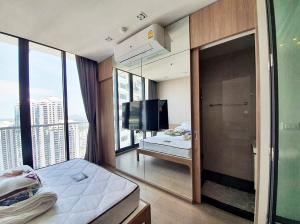 For RentCondoSukhumvit, Asoke, Thonglor : Condo Park Origin Phrom Phong @BTS Phrom Phong, 28 sq.m 33rd floor Clear View, Fully furnished