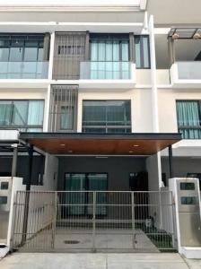 For RentTownhouseKaset Nawamin,Ladplakao : ( 1) B261 3-storey townhome for rent, The Landmark Ekamai Project, Ramintra, Sukontha Sawat Road, Soi 25.