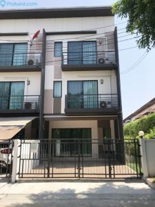For SaleTownhouseNawamin, Ramindra : For Sale - Townhome second hand Very new condition!! Angle conversion! Baan Klang Muang (AP) Phaholyothin 50