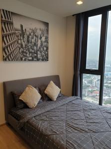 For RentCondoSapankwai,Jatujak : For rent, The Line Phahon-Pradipat, 1 bedroom 27 sqm., 36th floor, beautiful decoration, city view, fully furnished, ready to move in.