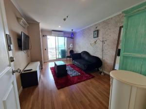 For RentCondoRama3 (Riverside),Satupadit : Condo for rent, Lumpini Park Riverside Rama 3, size 35 sqm., beautiful room, ready to move in.