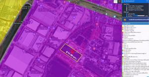 For SaleLandSamrong, Samut Prakan : Land for sale 9 rai 40 square wa, Bangna-Trad Road, km.19 (inbound side of Bangkok)