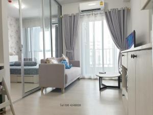 For RentCondoBang Sue, Wong Sawang : (For Rent) Condo CHAPTER ONE SHINE Bang Pho, new room, beautiful decoration, ready to move in 🥰