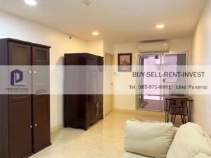 For RentCondoRama 8, Samsen, Ratchawat : Condo for rent at Baan Suan Sukhothai, near Wachira Hospital, 1 bedroom, 58 sq m., 2nd floor, private balcony, garden view, 20, 000 baht/month