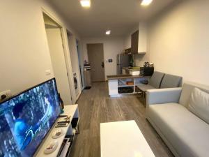 For RentCondoRattanathibet, Sanambinna : W0164# Condo for rent, Sale Condo, Rattanathibet, area 31.49 sq.m., building 2, 8th floor, rent 6,800 baht / month