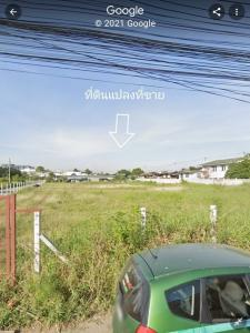 For SaleLandOnnut, Udomsuk : Land plot on two sides of the road Filled more than 15 years, area 1-0-70 sq wa (470 sq m.) On Nut 59 Sukhumvit 77 Srinakarin AN193
