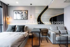 For RentCondoSiam Paragon ,Chulalongkorn,Samyan : Ashton Chula Silom, beautiful room, fully furnished 19,000