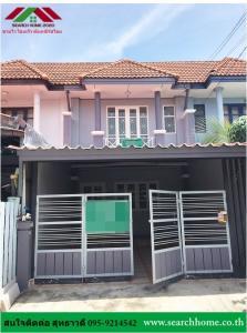 For SaleTownhouseBangbuathong, Sainoi : Townhouse for sale, 2 floors, 18 sq m.