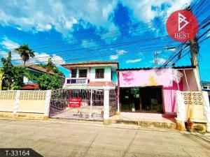 For SaleHouseMahachai Samut Sakhon : house for sale Koh Samut Village, next to the road, Tha Sai Subdistrict, Mueang Samut Sakhon District