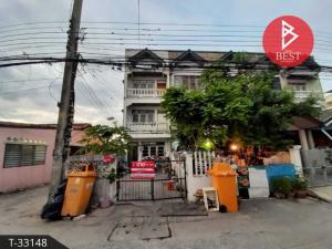 For SaleShophouseSamrong, Samut Prakan : 4 storey commercial building for sale, Nakhon Thong Village, Bang Na Km.13, Bang Phli, Samut Prakan.