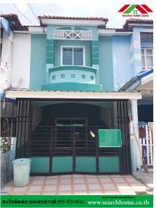 For SaleTownhouseBangbuathong, Sainoi : Townhouse for sale, 2 floors, 16 sq m. Piyawararom University, Sai Noi, Nonthaburi, beautiful, ready to move in. Contact 085-9214542.