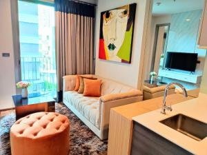 For RentCondoSukhumvit, Asoke, Thonglor : FOR RENT :: Ceil By Sansiri : Condo 1 bedroom Size 35 sq.m. Floor 9 Fully furnished and ready to move in