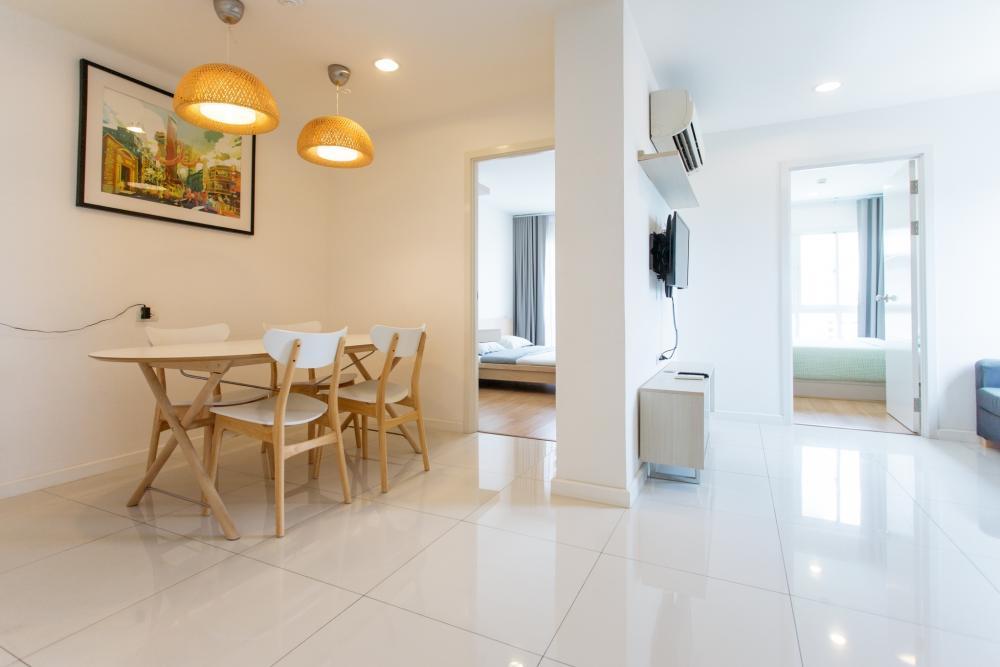 For RentCondoRattanathibet, Sanambinna : For rent, 2 bedrooms, 1 bathroom, Condo Waio Khae Rai, size 76 sqm., 7th floor