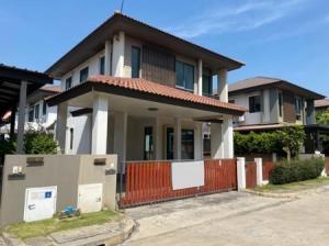 For SaleHouseNawamin, Ramindra : House for sale, cheapest price, Habitia Orbit, Hatairat, 113 sq m. 50 sq wa, good location, close to nature.