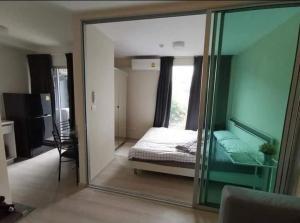 For RentCondoRamkhamhaeng, Hua Mak : For rent, Plum Condo Ram 60 Interchange, corner room, ready to move in.