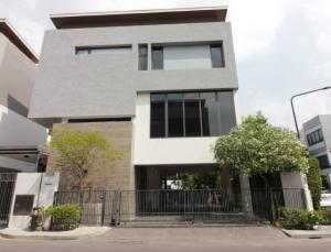 For RentHouseRama9, RCA, Petchaburi : Ultimate luxury Parc Priva detached house for rent near Rama 9 - Ratchadapisek