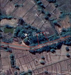 For SaleLandUdon Thani : Land for sale 2 ngan near Kham Chanod, Udon Thani province.