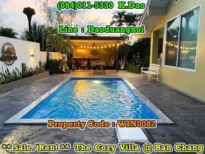 เช่าบ้านระยอง : The Cozy Villa, Ban Chang  Pool Villa +++Sale/Rent+++ Mountain Area - Green Scenery and Private