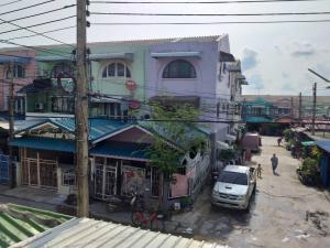 For SaleHouseRangsit, Patumtani : Townhouse for sale, 3 floors, Village Village, Soi Khlong Luang 21.