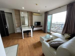 For RentCondoThaphra, Wutthakat : Condo President Bang Wa Station, 2 bedrooms for rent, built-in decoration, beautiful room, 60 sq m.